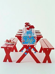 Picnic Table Runner