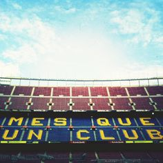 Fcbarcelona staduim: I remember this view. Can't wait to see it again!