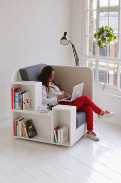 ¡Buenos días! Hoy compartimos un sillón muy original para veustras casas, pisos y apartamentos. ¿Qué os parece? http://es.1000apartamentos.com/  -  1000apartamentos.com - Google+
