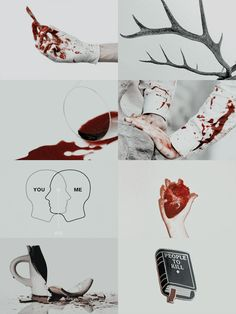 "gayblanchet: "" aesthetics → hannibal ""Must i denounce myself as a monster while you still refuse to see the one growing inside of you?"" """