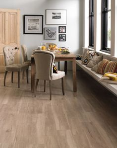 Karndean Van Gogh Frosted Birch flooring.