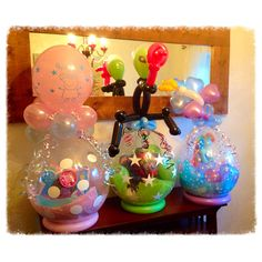Easter balloons from Balloon Blooms www.facebook.com/balloonblooms