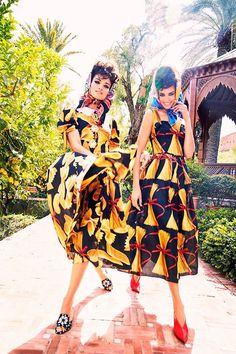 Shanina Shaik, Hind Sahli, and Hanaa Ben Abdesslem by Ellen von Unwerth, Harper's Bazaar Arabia March 2017