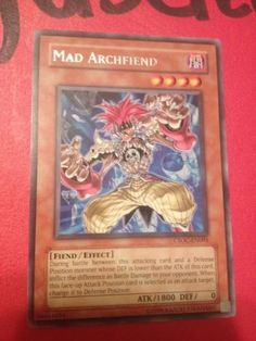 Yu-Gi-Oh-2x-Mad-Archfiend-CSOC-EN003-Rare-Unlimited-Edition-MP-HP