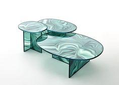 Le meilleur du Salon de Milan 2017 : Tables Liquefy, Patricia Urquiola (Glas Italia)
