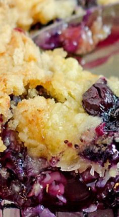 The Most Delicious Blueberry Dump Cake Ever