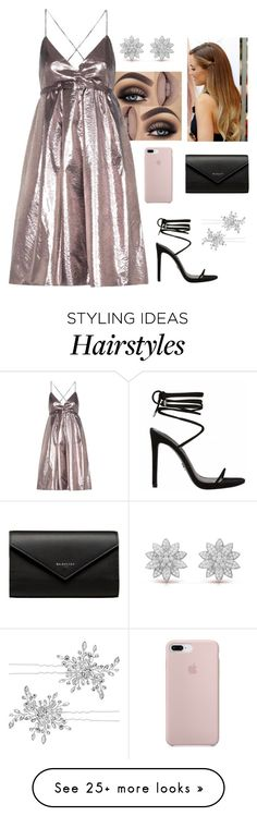 """""""Glitter"""" by be-for-real on Polyvore featuring Victoria, Victoria Beckham, Balenciaga and Matthew Williamson"""