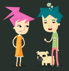 Character Design Portfolio by Kilmo, via Behance
