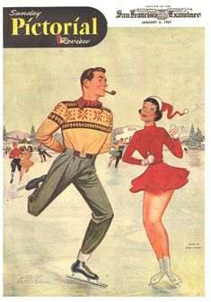 Sunday Pictorial Review - January 6, 1957....reépinglé par Maurie Daboux ❥•*`*•❥