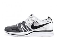 Nike Flyknit Trainer+ 'White/Black' – Release Date + Info- not too stylish but fresh nonetheless.