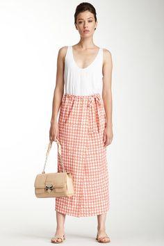 DVF Gigi Silk Skirt on HauteLook