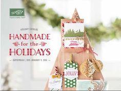 Stampin Up 2015 Holiday Catalog - YouTube