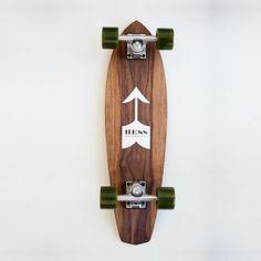 Hess - Moustache Skateboard