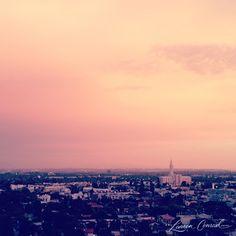 los angeles at sunset #california