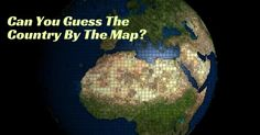 Can You Guess The Country By The Map