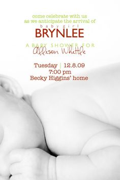 Brynlee how cute !  I alao like the moms name: Allison. baby girl name