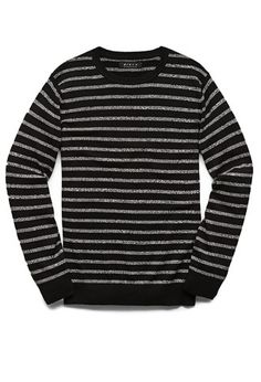 Marled Stripe Cotton Sweater | Forever 21 - 2000103688