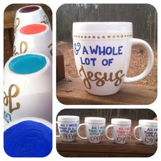"""""""All I Need Today is a Little Bit of Coffee and a Whole Lot of Jesus"""" 14 oz Mug"""