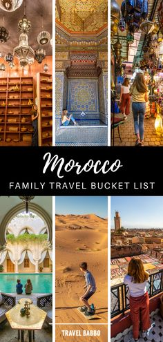 Morocco is amazing, and it's even possible to visit during a one-week school break from California. Here's everything we did, from food tours to sandboarding in the Sahara, and all of the riads we stayed at. Morocco Travel, Africa Travel, Family Adventure, Adventure Travel, Travel With Kids, Family Travel, Luxury Travel, Where To Go, Travel Plan