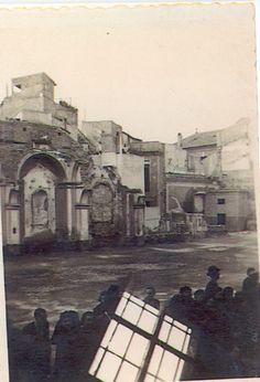 iglesia s.antolin tras guerra 1939 DESTRUIDO