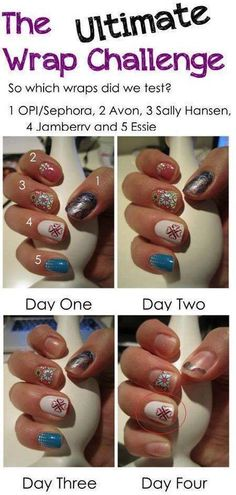 Jamberry compared to other nail wraps.