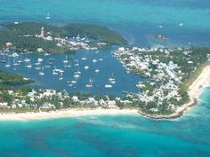 Hope Town, Elbow Caye, Bahamas