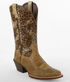 Ariat Legend Leopard Western Boot - Women's Shoes | Buckle i would loveee to have these