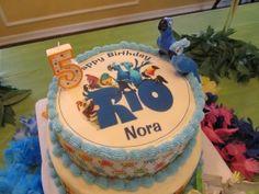 Rio Birthday cake Rio Birthday Cake, Birthday Party Celebration, 2nd Birthday Parties, Birthday Ideas, Rio Party, Party Time, Rio Cake, Rio 2, Cake Decorating