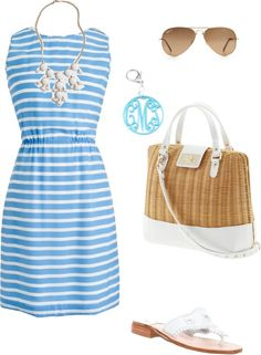 """""""Summer Date"""" by pinkprep37 ❤ liked on Polyvore"""