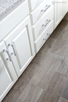 Porcelain tile floor that looks like wood! http://www.wayfair.com/Emblem-20-x-7-Porcelain-Field-Tile-in-Gray-EM037201P2-DAI5081.html?SSAID=687298&refid=SS687298