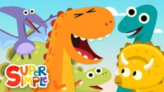 The best dinosaur songs for preschool, pre-k, and kindergarten kids. Your kids will love these fun and engaging dinosaur songs! Dinosaur Songs For Preschool, Dinosaur Activities, Dinosaur Crafts, Preschool Activities, Dinosaur Pet, Dinosaur Eggs, Preschool Classroom, Songs For Toddlers, Kids Songs