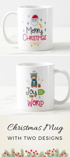 Christmas Mug with 2 designs. Place each design on the side you please! Christmas Mug with 2 designs. Place each design on the side you please! Christmas Mugs, Christmas Presents, Merry Christmas, Christmas Christmas, Funny Mugs, Funny Gifts, Best Bridesmaid Gifts, White Elephant Gifts, Best Gifts