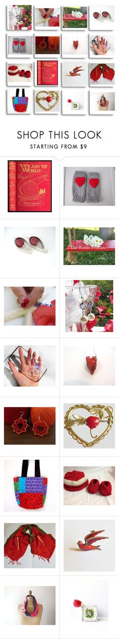 Amazing Etsy Gifts! by therusticpelican on Polyvore featuring Krementz, modern, contemporary, rustic and vintage