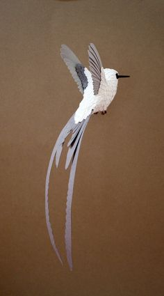Paper Birds by Zack Mclaughlin on www.inspiration-now.com