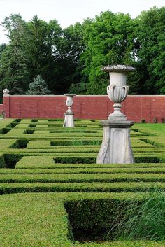 The Square Parterre At Allerton Park by Shirley LeMay by Enjoy Illinois, via Flickr
