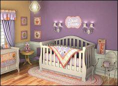 orange cupcake nursery decor | Decorating theme bedrooms - Maries Manor: cupcakes bedroom ideas ...