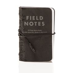 LAKE GEORGE to take notes while observing nature./surrounding/etc: BLACKBIRD Tar Field Notes | $28