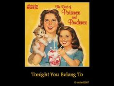 ▶ Patience and Prudence - Tonight You Belong To Me (alternative take - upbeat) Pop Rock, Rock N Roll, Music Songs, My Music, Music Pics, Music Videos, Worst Album Covers, Bad Album, One Hit Wonder