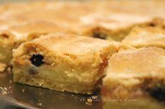 Crostata bocconotto con crema e amarene ricetta il mio saper fare Spanakopita, Apple Pie, Nutella, Red Velvet, Baking, Ethnic Recipes, Desserts, Food, Anna