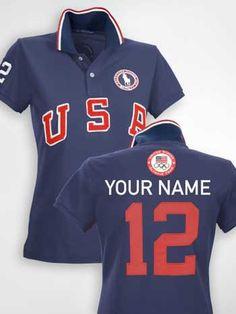 Dress Like an Olympian in Ralph Lauren's Monogrammable Team Polos http://lcky.mg/Rk0mNJ