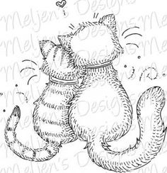 Kitty Love Digi Stamp $3.00
