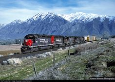 RailPictures.Net Photo: SP 8685 Southern Pacific Railroad EMD/MK Rail SD40M-2 at Spanish Fork, Utah by James Belmont