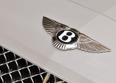 Bentley Continental Flying Spur from/to Paris, Cannes Mandelieu and Nice Airports. Bentley Logo, Bentley Car, Bentley Motors, Car Symbols, Bentley Flying Spur, Aircraft Engine, Car Logos, Bentley Continental