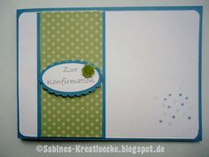 Konfirmation, Stampin up