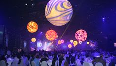 lust in space party ideas