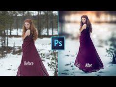 Photoshop cc Tutorial: Fantasy Girl (Sunset Effects) Photoshop Tutorial, Cool Photoshop, Photoshop Design, Photoshop Actions, Lightroom, Photoshop Ideas, Photoshop For Photographers, Photoshop Photography, Photography Tips