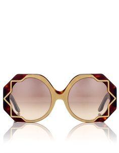 Gold Tortoiseshell Sunglasses | Cutler and Gross | Avenue32