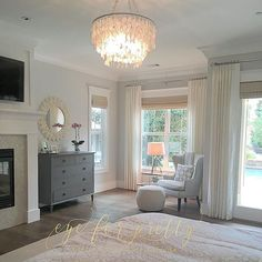Behr Silver Drop - front room or master bedroom?