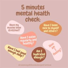 Mental Health Check, Mental And Emotional Health, Mental Health Matters, Mental Health Quotes, Mental Health Awareness, Positive Mental Health, Health And Wellness Quotes, Vie Motivation, Self Care Activities