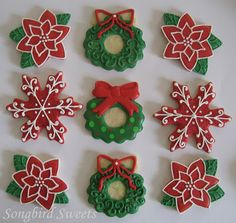 These were made for a friend's holiday party:) Thanks for the order, Amy!!! Have A Sweet Day! ~sarah